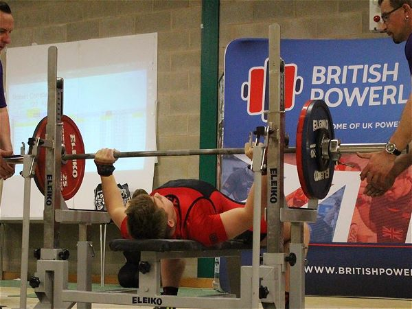 Photo 1 - Robert Christie wins English Powerlifting Championship title