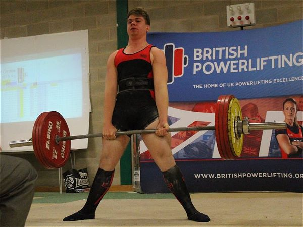 Photo 2 - Robert Christie wins English Powerlifting Championship title