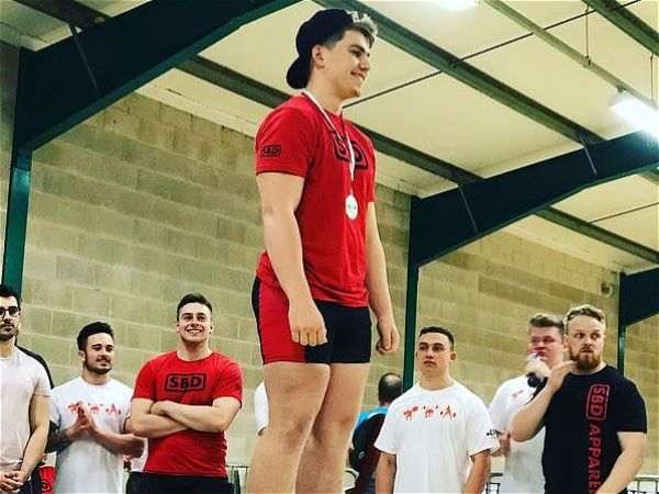 Photo 3 - Robert Christie wins English Powerlifting Championship title