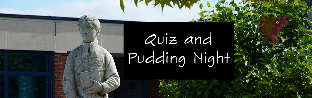 Quiz and Pudding Night - Friday 27th