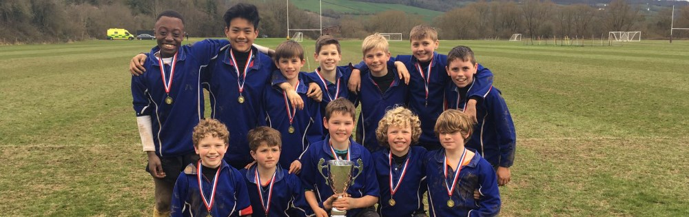 U12 Monmouth School 7s winners