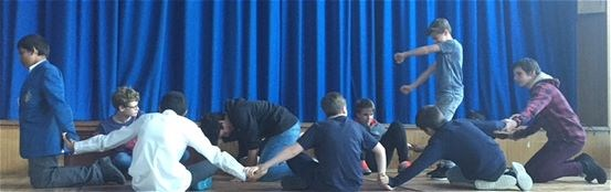 Year 8 'The Tempest' Workshop