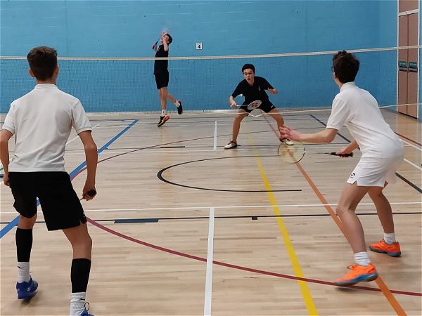 Photo 2 - KS4 Badminton team come second in Gloucestershire School Game's County Finals.