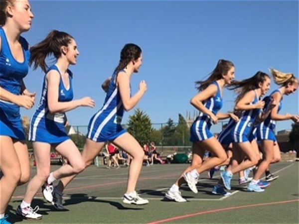 Photo 1 - Netball team reach semi-finals at the U19s county tournament