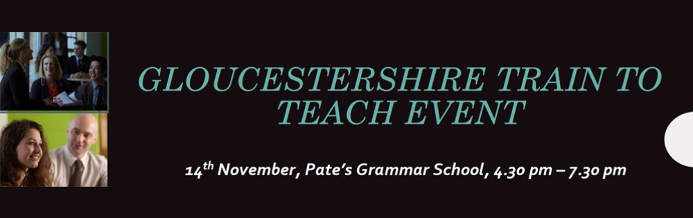 Gloucestershire Train to Teach Event