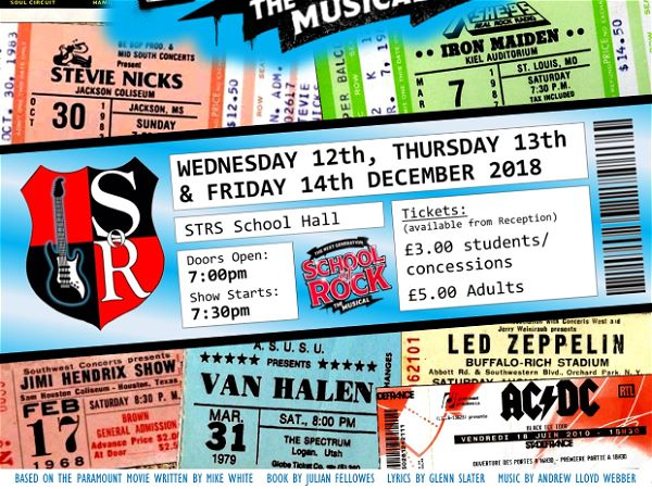 Photo 1 - Limited tickets available for School of Rock production
