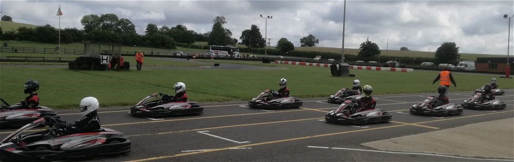 STRS Karting team at National Finals