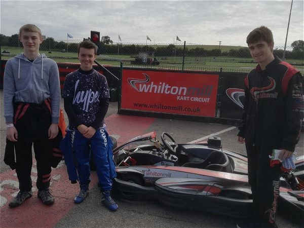 Photo 1 - STRS Karting team at National Finals