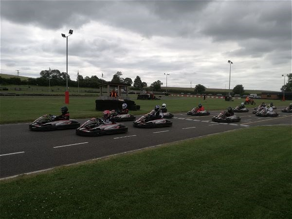 Photo 2 - STRS Karting team at National Finals