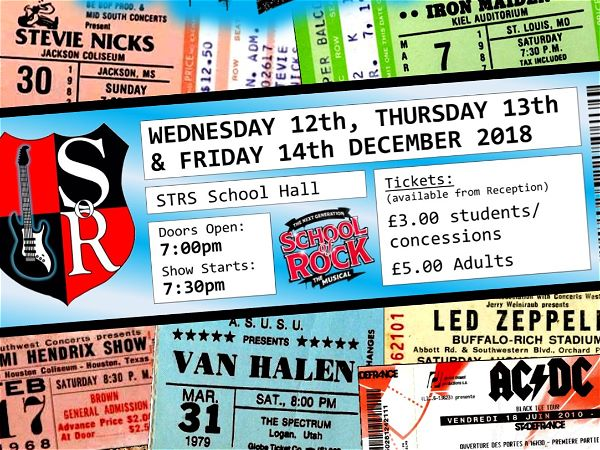Photo 1 - SCHOOL OF ROCK - Tickets NOW on sale!