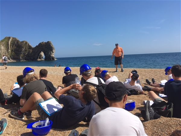 Photo 4 - Lulworth Cove Geography Fieldwork Year 10