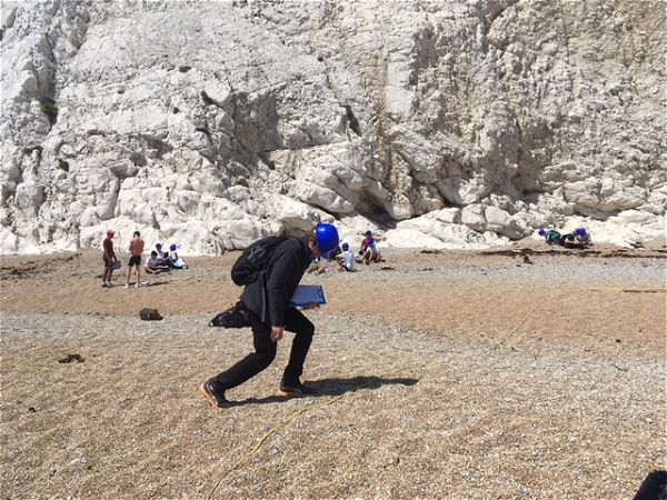 Photo 5 - Lulworth Cove Geography Fieldwork Year 10