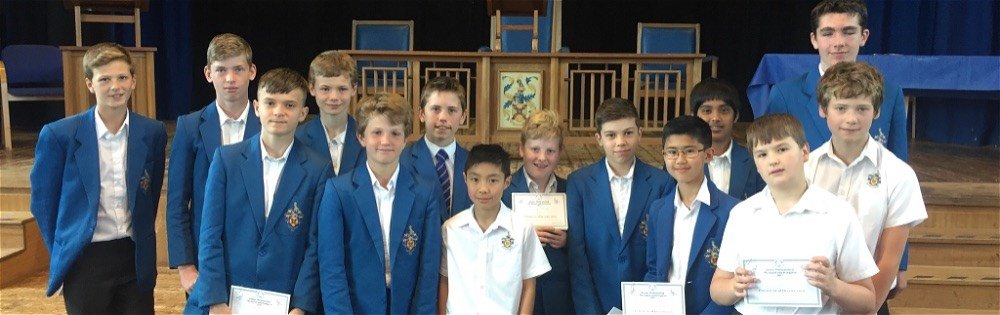 Success in national Maths competition