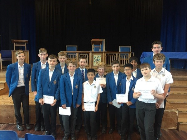 Photo 1 - Success in national Maths competition