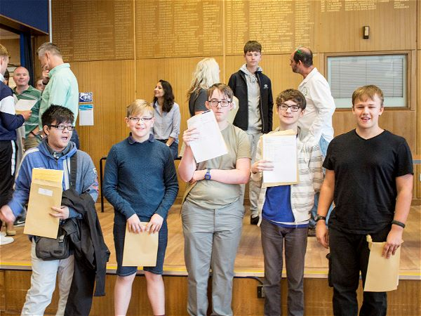 Photo 2 - A Strong Set of GCSE Results for STRS