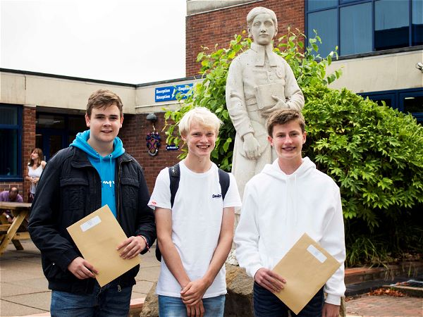 Photo 3 - A Strong Set of GCSE Results for STRS