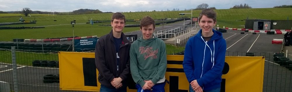 Karting final at Thruxton