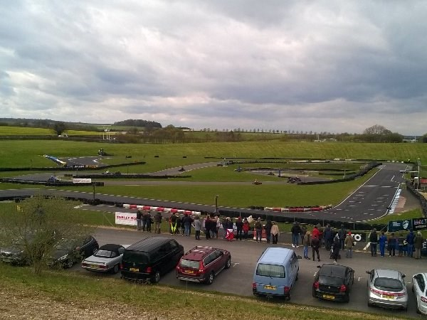 Photo 2 - Karting final at Thruxton