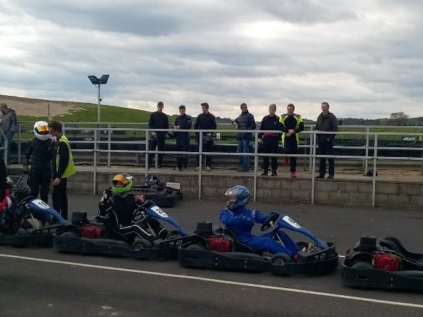 Photo 3 - Karting final at Thruxton