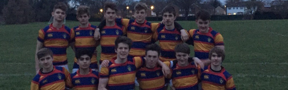 Under 16 Rugby Success