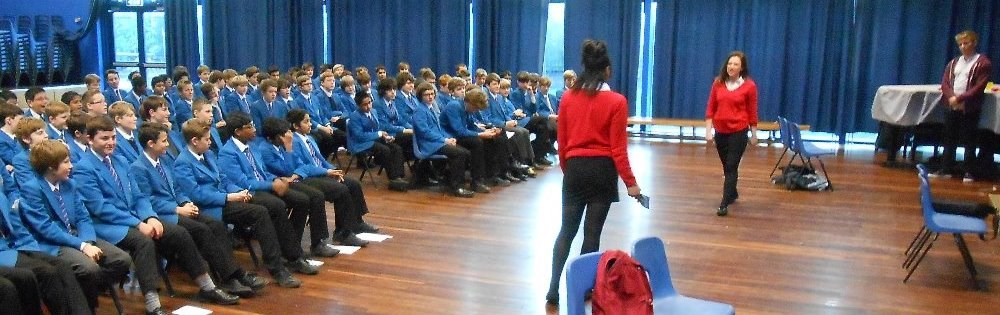 Chelsea's Choice Theatre Workshop for Year 8 PSHE