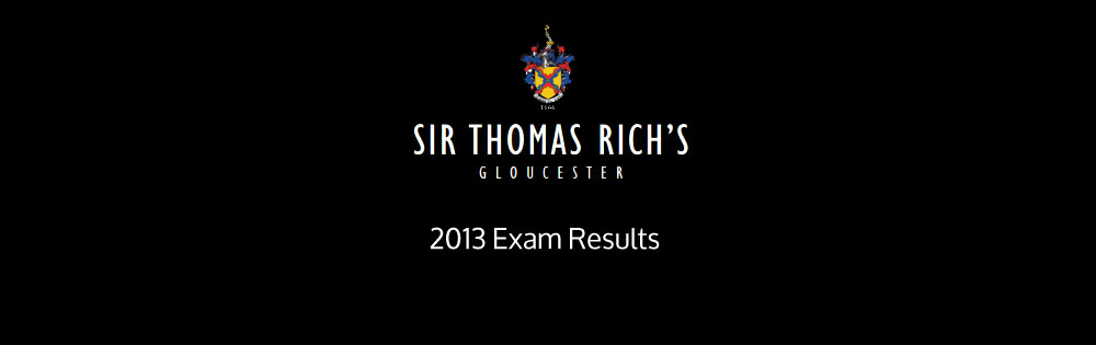 2013 Exam Results