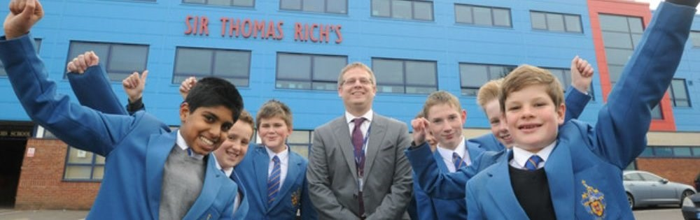 Sir Thomas Rich's School ranked 39 in the country