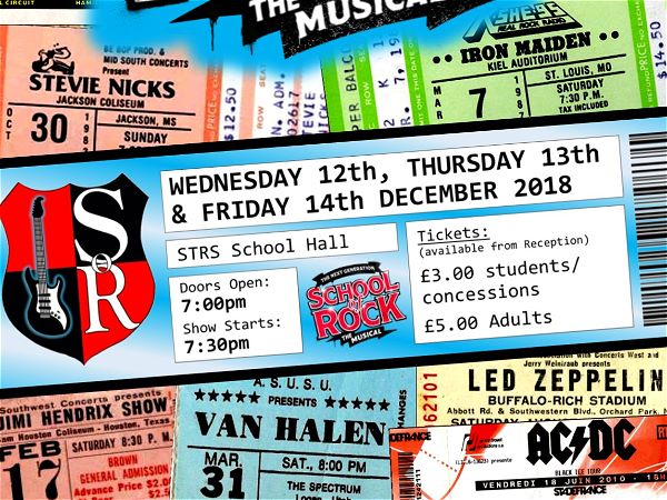 Photo 1 - SCHOOL OF ROCK! - Tickets are NOW on sale!