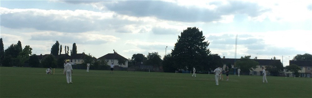 Staff and student cricket fixture ends in a tie