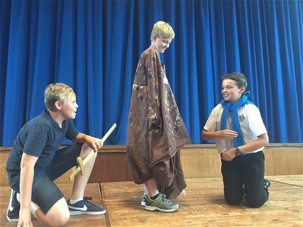 Photo 1 - YEAR 7 DRAMA WORKSHOP: 'A Midsummer Night's Dream.'