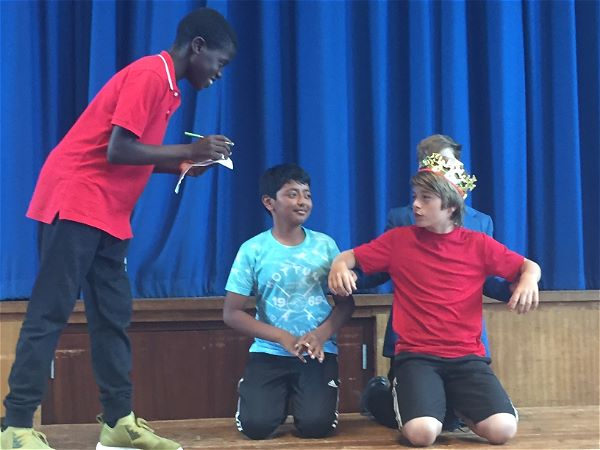 Photo 4 - YEAR 7 DRAMA WORKSHOP: 'A Midsummer Night's Dream.'