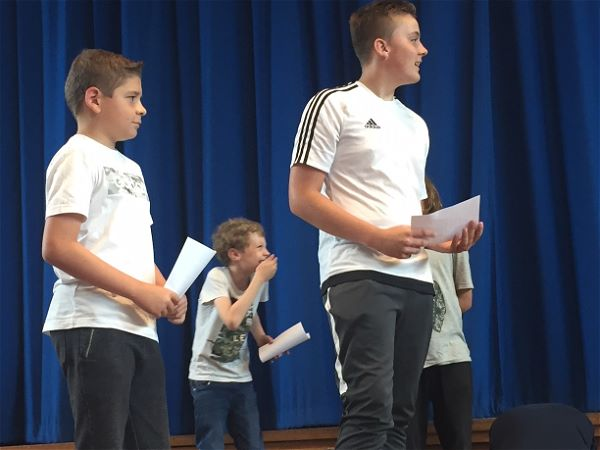 Photo 5 - YEAR 7 DRAMA WORKSHOP: 'A Midsummer Night's Dream.'