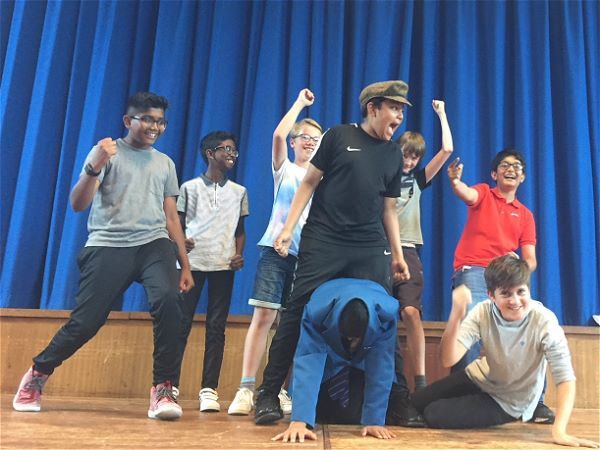 Photo 6 - YEAR 7 DRAMA WORKSHOP: 'A Midsummer Night's Dream.'