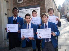 Photo 1 - Success in MFL Short Film Competition