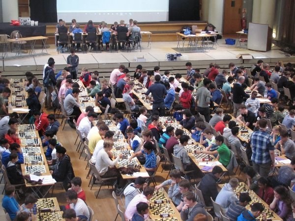 Photo 1 - Chess Team at the National School's Championships